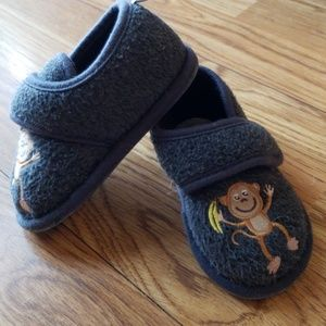 Other - Boys velcro Monkey slippers
